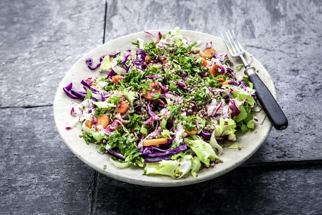 Buchweizensalat, Salat, healthy, Gemüse, food, photography, fotografie, Jessica Morfis, salad, fresh