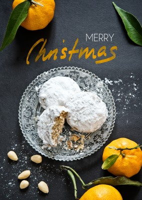 kourabiedes merry christmas